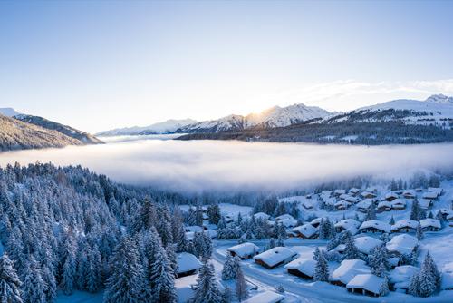 Winter in Königsleiten